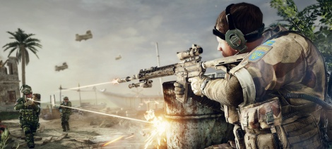 MOH Warfighter Multiplayer Screens