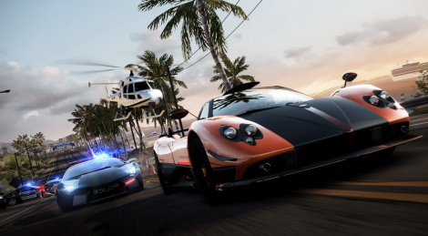 More NFS Hot Pursuit images