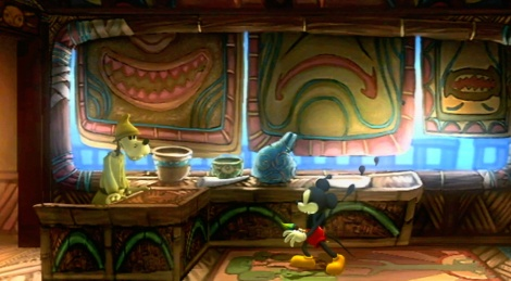 Music in Epic Mickey