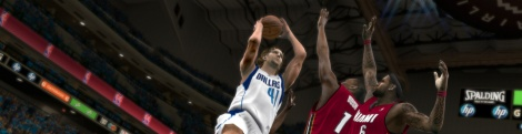 NBA 2K12 first screenshot