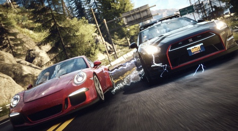 Need for Speed rivals trailer & images