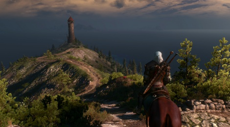 New 4K screens of The Witcher 3
