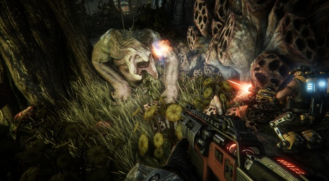 New Evolve screenshots