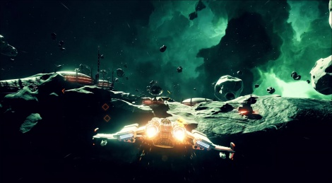 New gameplay footage of Everspace