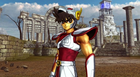 New Saint Seiya game announced