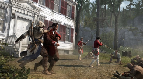 New screens of Assassin's Creed III