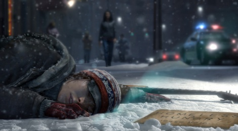 New screens of Beyond: Two Souls