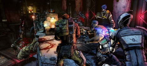New screens of Borderlands 2