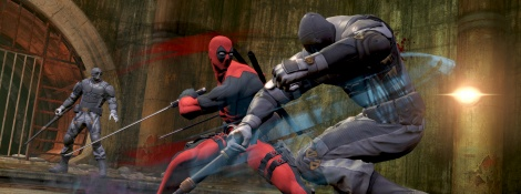 New screens of Deadpool
