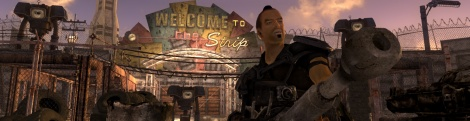 New screens of Fallout New Vegas