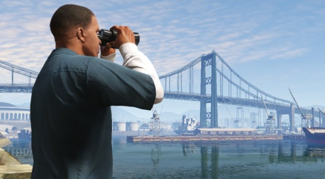 New screens of GTA V