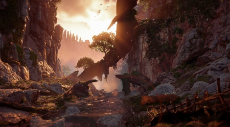 New screens of Horizon: Zero Dawn