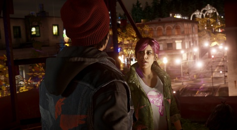 New screens of inFamous: Second Son