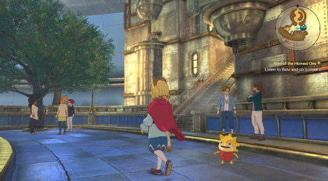 New screens of Ni no Kuni II