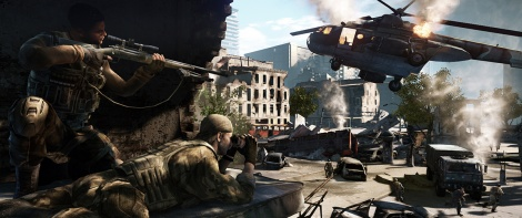 New screens of Sniper Ghost Warrior 2