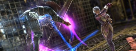 New screens of Soul Calibur V