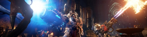 New screens of Space Hulk: Deathwing