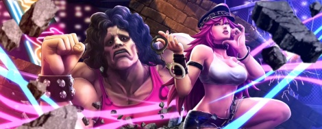New screens of Street Fighter X Tekken