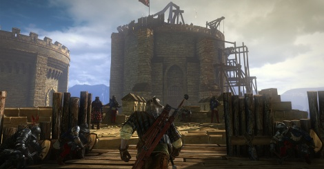 New screens of The Witcher 2