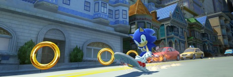 New Sonic Generations Screens