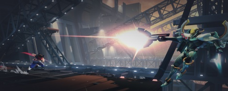 New trailer and screens of Strider
