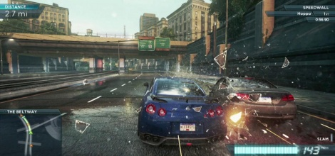 NFS Most Wanted points out the way