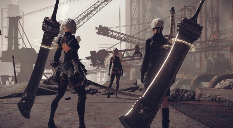 NieR: Automata screens, arts