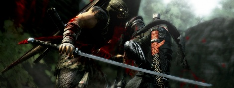 Ninja Gaiden 3 screens and video