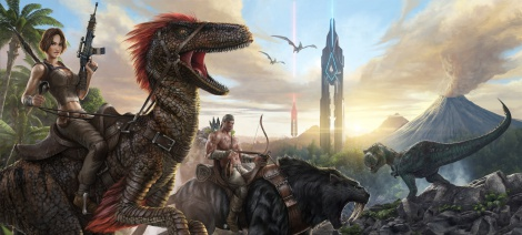 Open-world dino game ARK revealed