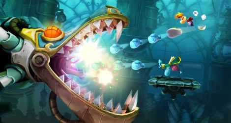 Our 360 videos of Rayman Legends