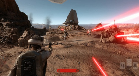 Our PC videos of Star Wars Battlefront Beta