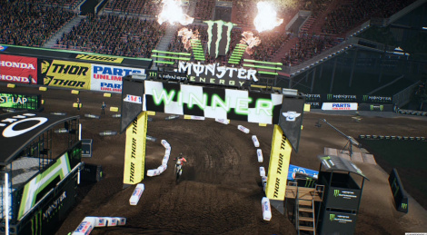 Our PS4 videos of Monster Energy Supercross