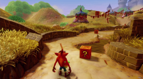 Our Switch videos of Crash Bandicoot