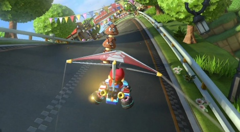 Our Switch videos of MK8 Deluxe