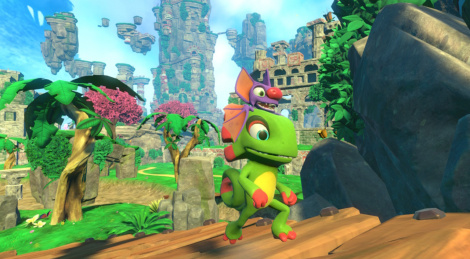 Our Switch videos of Yooka-Laylee