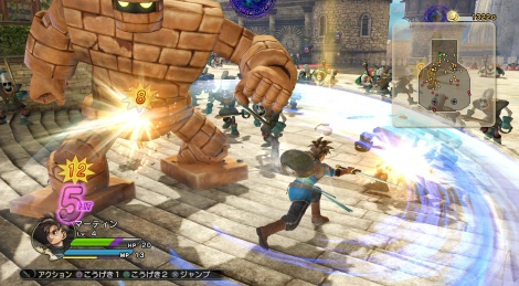Our videos of Dragon Quest Heroes
