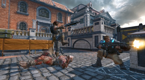 Our videos of Gears of War 4 beta