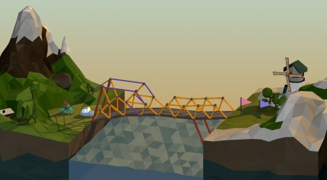 Our videos of Poly Bridge Early Access