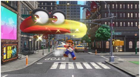 Our videos of Super Mario Odyssey