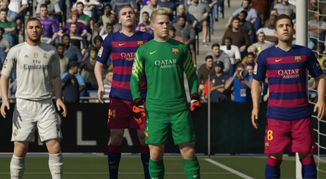 Our videos of the Fifa 16 demo