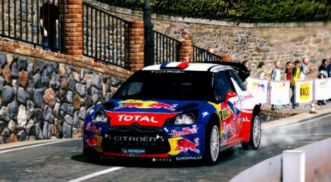 Our videos of the WRC 3 demo