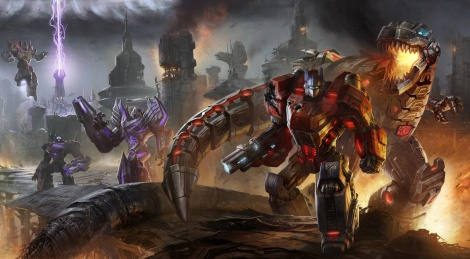 Our videos of Transformers FoC