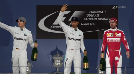 Our Xbox One videos of F1 2016