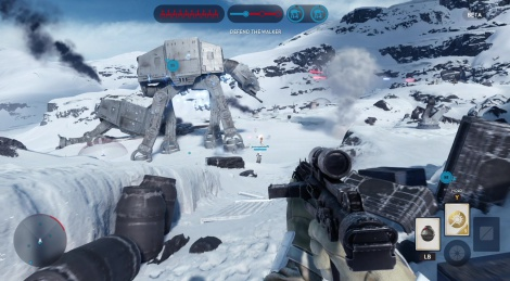Our Xbox One videos of SW Battlefront Beta