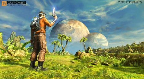 Outcast - Second Contact first screens