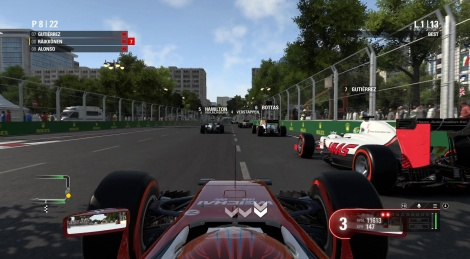 PC videos of F1 2016 preview version
