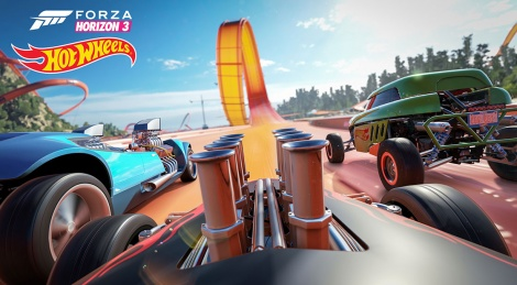 PC videos of FH3 Hot Wheels expansion