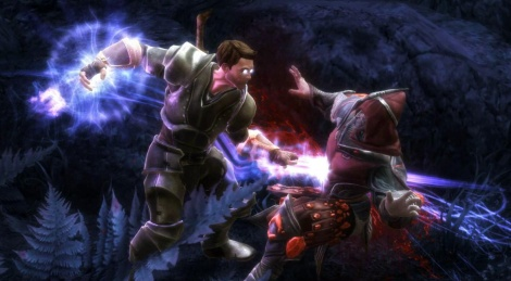 PC videos of Kingdoms of Amalur: Reckoning's demo