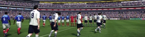 PES 2010 demo videos at 60 fps