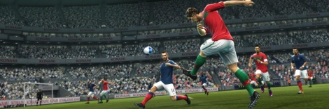 PES 2012: Hold-up play